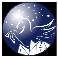 Pegasus-Logo. Design: hennig-design.de